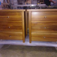 Rimu Bedside Cabinets