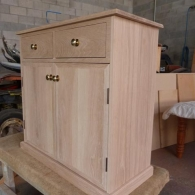 Customer Designed Oak Cabinet