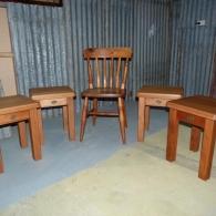Bespoke Order Dining Stools (Kauri)
