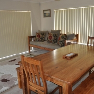 Day Bed and Dining Table (Rimu)