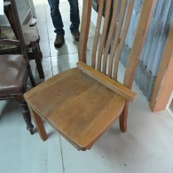 Rimu Chair w/Broken Leg